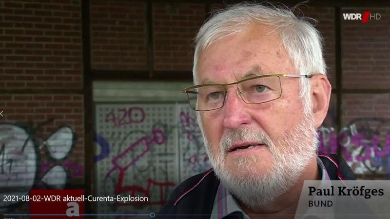 Paul Kröfges im Interview zu Currenta bei der Aktuellen Stunde im WDR.