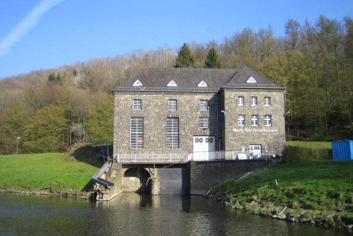 Wasserkraftanlage (WKA) Ohl Grünscheid an der Agger