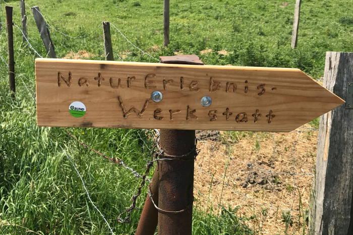 Die NaturErlebnis-Werkstatt in Alsdorf gehört zum BUND Aachen Land.